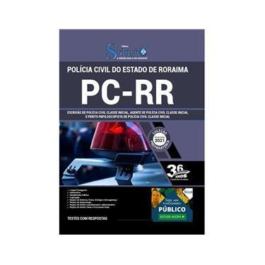 Imagem de Apostila PC RR - Escrivão Agente e Perito Papiloscopista
