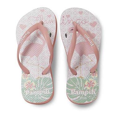 Chinelo Infantil Pampili Menina Flamingo
