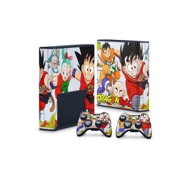 Skin Adesivo para Xbox 360 Super Slim - Dragon Ball Clássico
