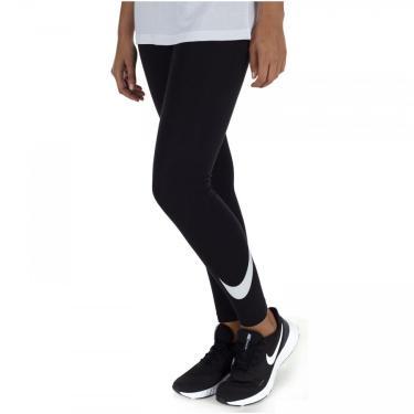 Calça Legging Nike Sportswear Club HW Swoosh - Feminina Nike Feminino