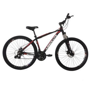 Imagem de Bicicleta Aro 29 em Alumínio Preto/Vermelho Absolute Nero