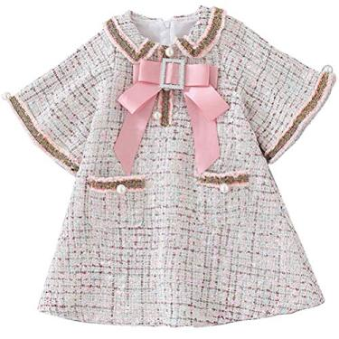 SOIMISS meninas vestido de uma peça vestido inverno outono vestido charmoso crianças vestido princesa