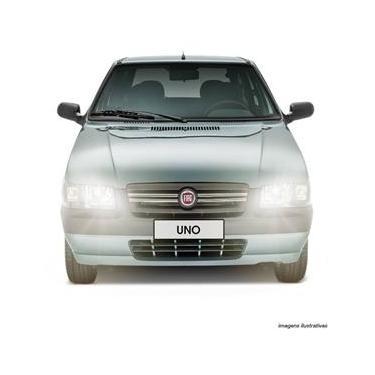 Farol Uno Fiorino 04 a 12 Par + Lâmpada Super Branca Philips H4 4300K Par