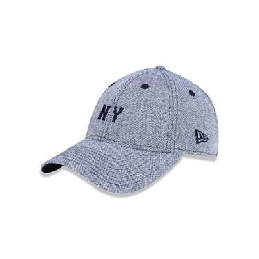 BONE 940 NEW YORK YANKEES MLB ABA CURVA MARINHO NEW ERA