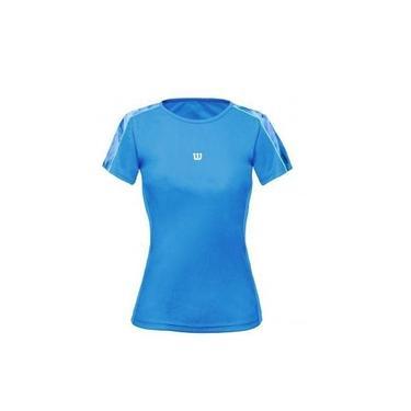 Camiseta Wilson Tour SS Azul