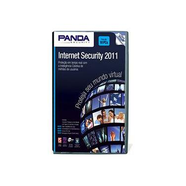 10 Licenças do Panda Internet Security 2011 para PC - Panda Security do Brasil S/A