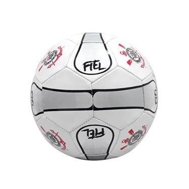 Bola De Futebol Campo Licenciada Corinthians Fiel Oficial Inmetro
