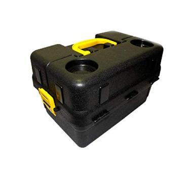 Caixa Pesca 6 Bandejas Articuladas Hi 6bj Completa + Enrolador+Porta carretel