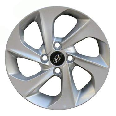 Jogo de Rodas Hyundai HB20 Aro 15 x 6,0 4x100 ET42 R78 Prata