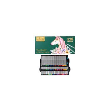 Conjunto de lápis de cor 150 cores lápis profissional Pintura a óleo Desenho do artista Lápis de cor de madeira Material escolar