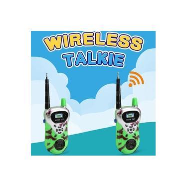 Walkie Talkie Interativo Toys 2 PCS Infantil