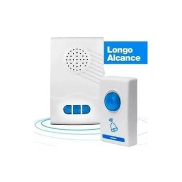 Imagem de Campainha Residencial Sem Fio Doorbell Wifi 36 Toques Wireless