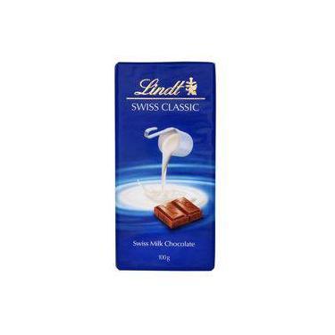 Chocolate Ao Leite Suíço Lindt Swiss Classic Milk 100g