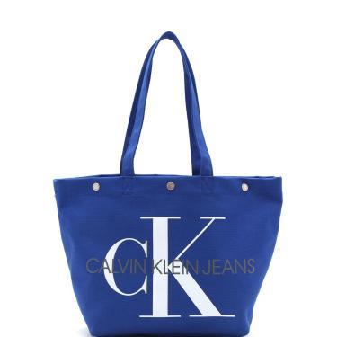 Bolsa Calvin Klein Monograma Azul Calvin Klein K60K605310 feminino