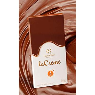 Barra de chocolate LA CREME ao leite - cacau show 100 gramas