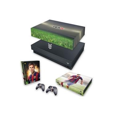 Capa Anti Poeira e Skin para Xbox One X - Fifa 15