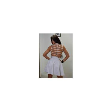 Imagem de Vestido Limone tiras frente e costas Branco