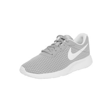 Tênis Nike Sportswear WMNS Tanjun Cinza/Branco  feminino