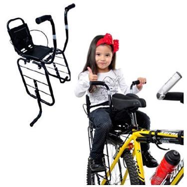 Cadeirinha Infantil Para Bagageiro Bicicleta Cinto De Segurança