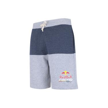Bermuda de Moletom Red Bull Racing SC Color - Masculina - CINZA CLA AZUL ESC d77459708ee
