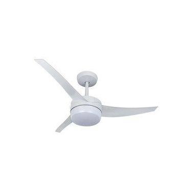 Ventilador de Teto Lunik Venti-Delta 3 Pás Branco com Controle Remoto