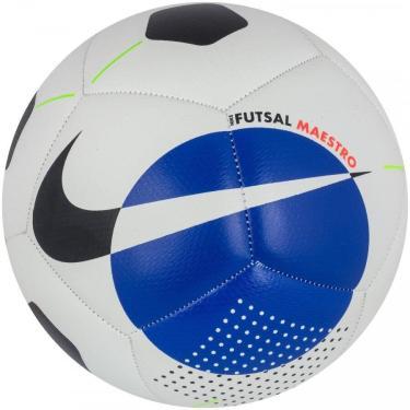Bola de Futebol Futsal Nike Cbf Maestro CT7815-100, Cor: Branco/Amarelo, Tamanho: PRO