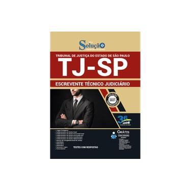Imagem de Apostila TJ SP - Escrevente Técnico Judiciário (TJSP)