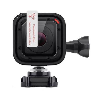 Ultra fino 0,2 milímetros Transparente Transparente Lens Protector Film para GoPro Hero 4 Session Camera Banggood