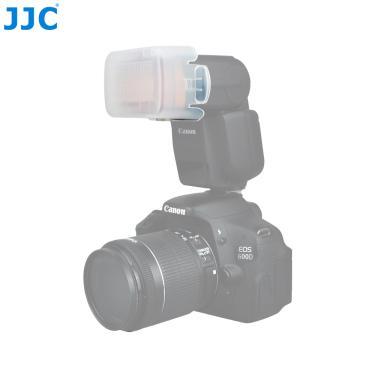 Imagem de Jjc-difusor de flash speedlight softbox para canon 600ex, 430ex,