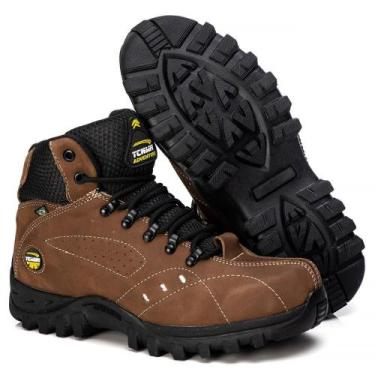 Imagem de Bota Adventure Tchwm Shoes Couro Sola Borracha Forro Macio