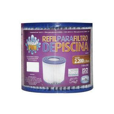 MOR - Refil Para Filtro De Piscinas Com Vazão De 2.200 L/H- 001498