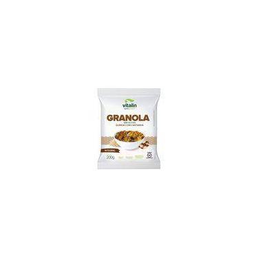 Granola Quinoa com Castanhas sem Glúten Vitalin 200g