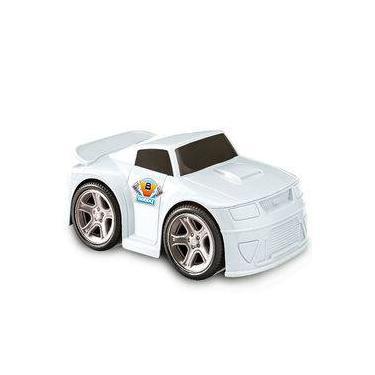 Imagem de Carro Bobby Fricção E Rodas Cromadas Usual Plastic Brinquedos - Ref. 144