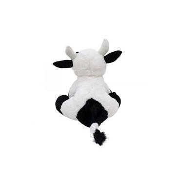 Imagem de Vaca Branca Manchas Pretas 32cm - Pelúcia