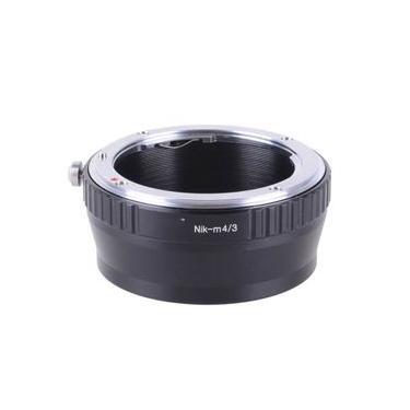Adaptador NIK-M4/3 de Lente Nikon F-Mount para Câmeras MTF Micro Quatro Terços (M4/3)