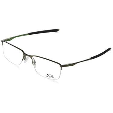 Oakley SOCKET 5.5 OX3218 02 Prata Pewter Lente Tam 54