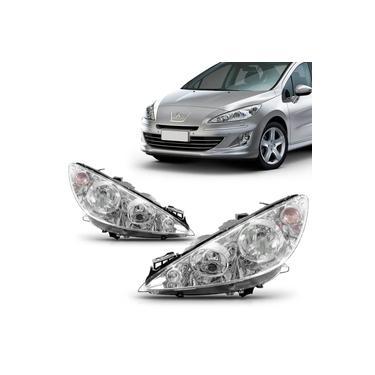 Farol Peugeot 408 2011 2012 2013 2014 2015 Foco Duplo
