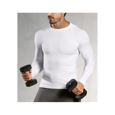 Camiseta manga longa térmica masculino Lupo ref.70045