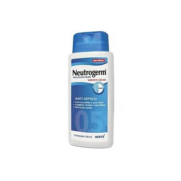 Neutrogerm Sabonete Líquido Antisséptico Corporal 0,5% 150mL