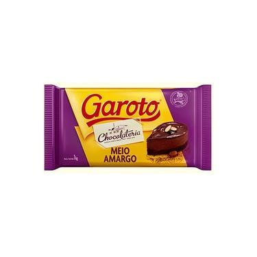 Barra de Chocolate Meio Amargo kg - Garoto