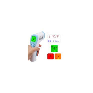 Testa digital termômetro infravermelho portátil medidor de temperatura sem contato dispositivo de medição de temperatura de alta precisão e comutável