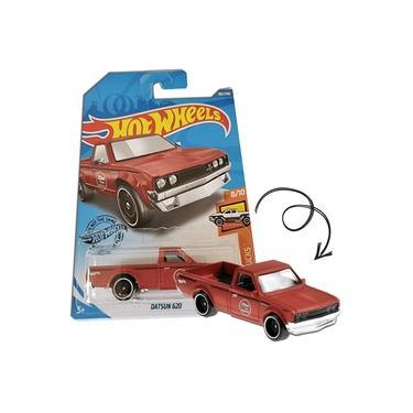 Imagem de HOT WHEELS Datsun 620 Vermelho Caminhonete Mattel GHC41