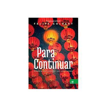Para Continuar - Capa Comum - 9788581637952