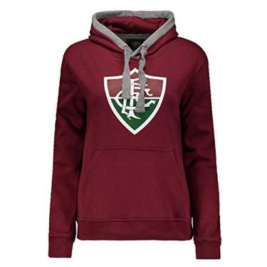 22f13c8c18e Moletom Fluminense Com Capuz Feminino