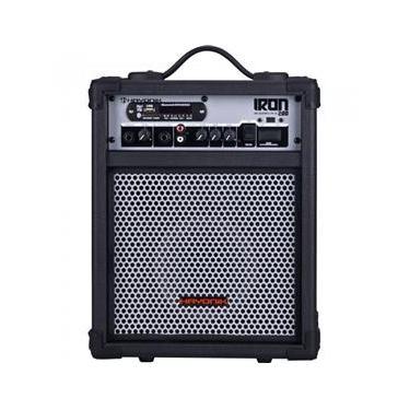 Caixa Multiuso Iron 200 30W Rms Bluetooth USB/Sd e Rádio Fm Hayonik