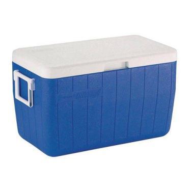Imagem de Caixa térmica 48qt 45,4 litros azul - coleman