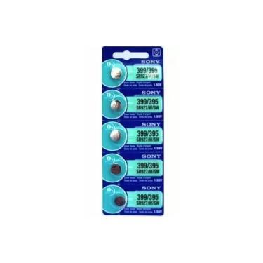 Cinco Baterias Pilha Sony Sr 399 395 Sr 927 Bateria Original