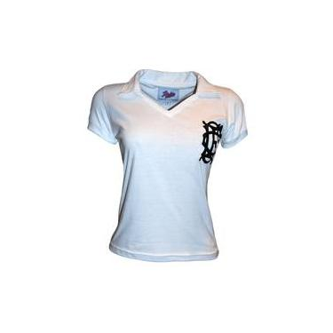 Camisa Liga Retrô Corinthian Inglês 1910 Feminina