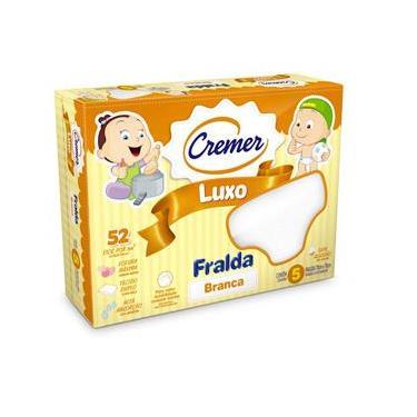 Fralda De Pano Luxo - Cremer 70X70Cm Caixa C/ 5 Unidades - 375992