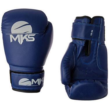 Luva de Boxe Prospect, Tamanho 10Oz, MKS, Azul
